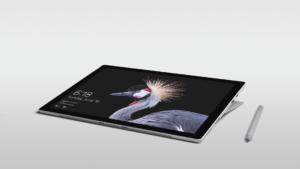 Surface Pro Bild mit Stift